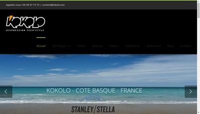 Site internet de Kokolo