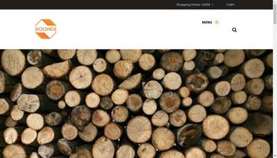 Site internet de Koones