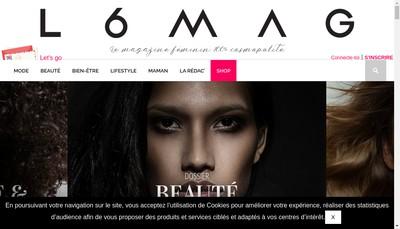 Site internet de L6Mag