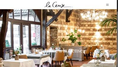 Site internet de La Cense