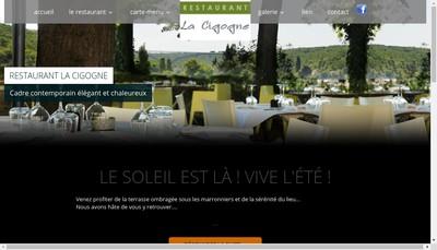 Site internet de Restaurant la Cigogne