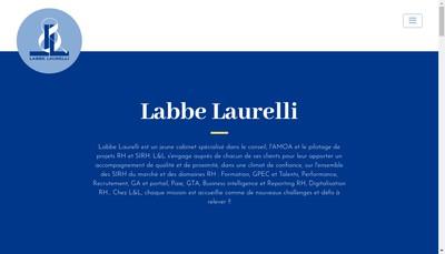 Site internet de Labbe Laurelli