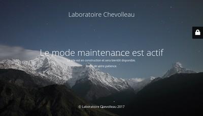 Site internet de Laboratoire Chevolleau