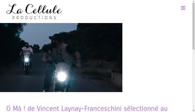 Site internet de La Cellule Productions
