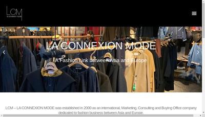 Site internet de Lcm Consulting