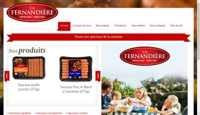 Site internet de La Ferlandiere