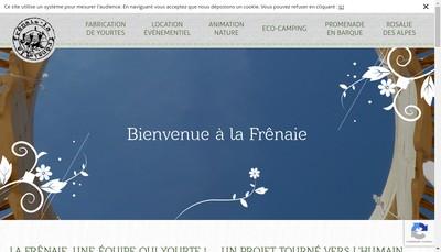Site internet de La Frenaie