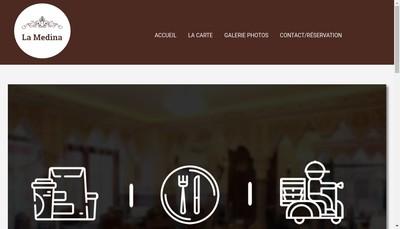 Site internet de La Medina