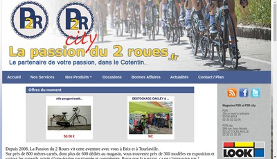 Site internet de P2R