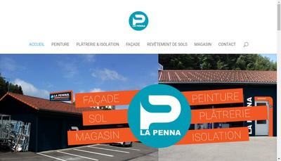 Site internet de La Penna