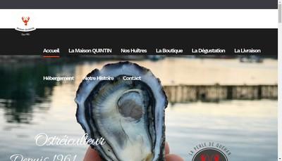 Site internet de La Perle de Quehan