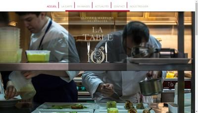Site internet de La Table 101