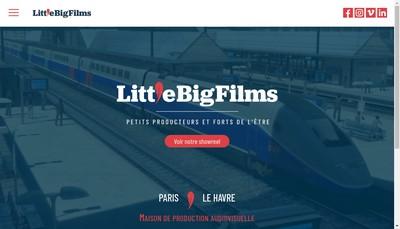 Site internet de Lbf Production