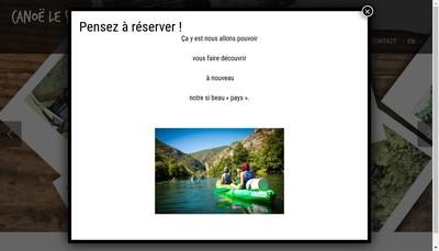 Site internet de Au Debarcadere