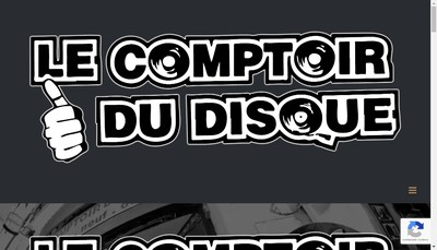 Site internet de Le Comptoir du Disque