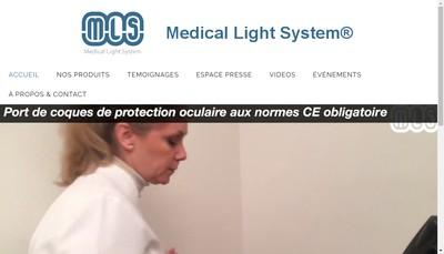 Site internet de Medical Light System