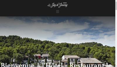 Site internet de Le Jas de Joucas