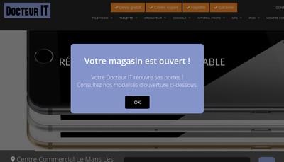 Site internet de Docteur It
