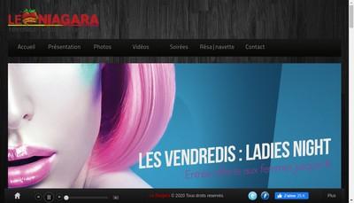 Site internet de Le Niagara