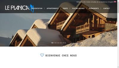 Site internet de Le Planica