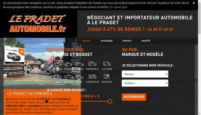 Site internet de Le Pradet Automobile Fr