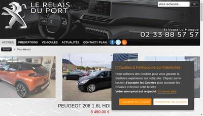 Site internet de Peugeot