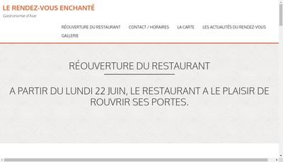 Site internet de Le Rendez-Vous Enchante