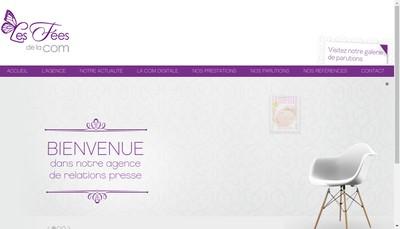 Site internet de Les Fees de la Com