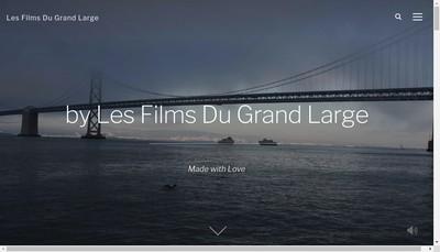 Site internet de Les Films du Grand Large