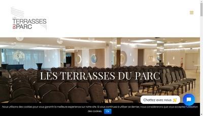 Site internet de Les Terrasses du Parc