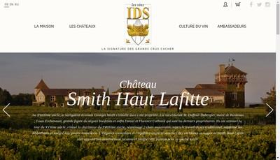 Site internet de Les Vins Ids