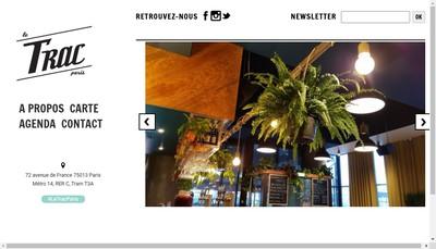 Site internet de Le Trac