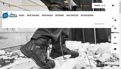 Site internet de Le Travail en Couleur