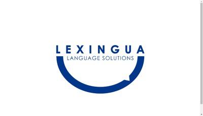 Site internet de Lexingua