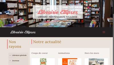 Site internet de Librairie Ellipses