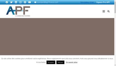 Site internet de Hydro Volets