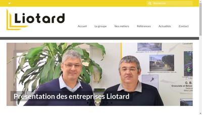 Site internet de Liotard Tp