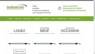 Site internet de Locafusee