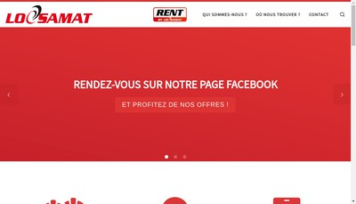 Site internet de Locsamat