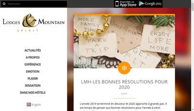 Site internet de Hotel le New Solarium