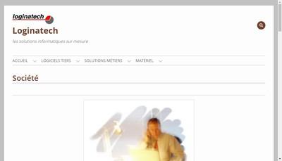 Site internet de Loginatech
