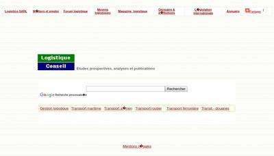 Site internet de Transport Logistique Conseils et Services