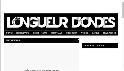 Site internet de Longueur d'Ondes