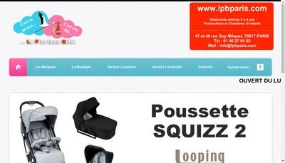 Site internet de Societe Lpb
