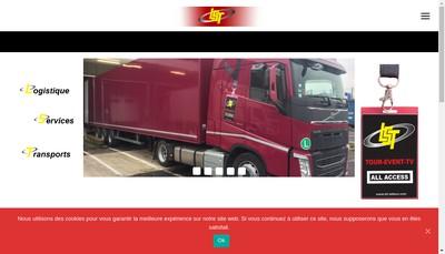 Site internet de Logistique Services Transports
