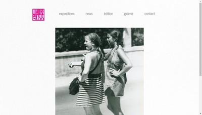 Site internet de Lumiere des Roses