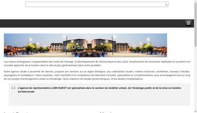 Site internet de Lumi-Ouest