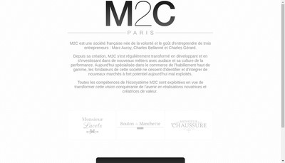 Site internet de M2C
