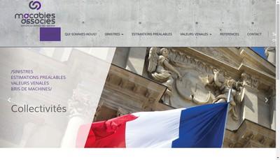 Site internet de Macabies Associés