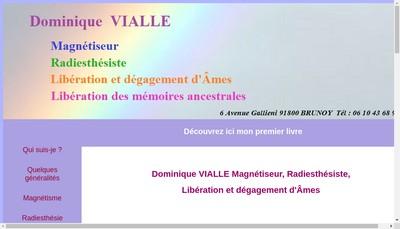 Site internet de Dominique Vialle